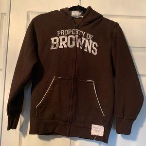 Woman's Reebok vintage CLE browns hoodie
